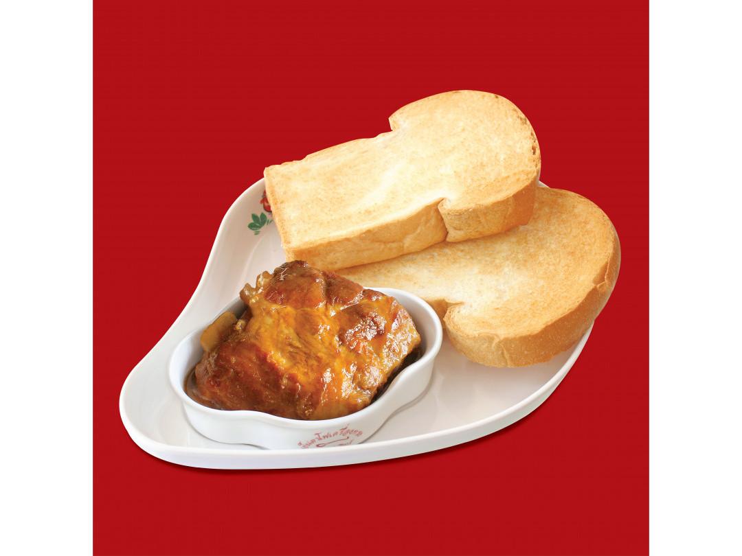 ขนมปังซี่โครงหมูอบ