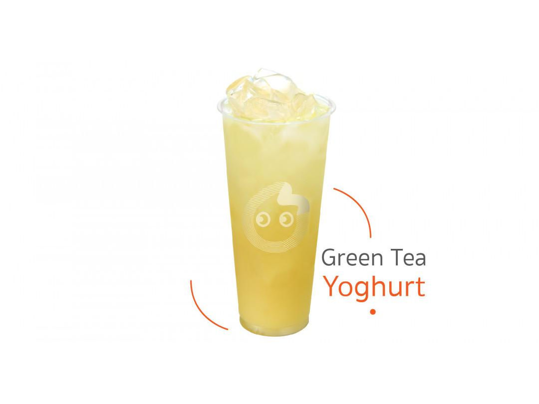 ชาเขียวโยเกิร์ต