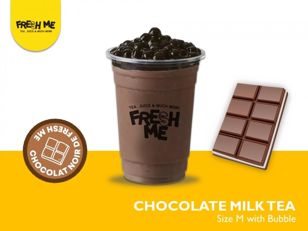 Choccolate Milk Tea + Bubble