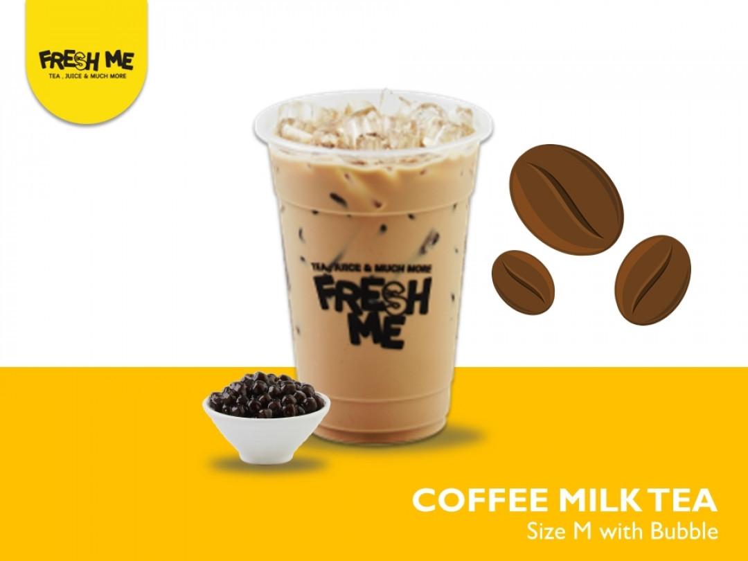 Coffee Milk Tea + Bubble