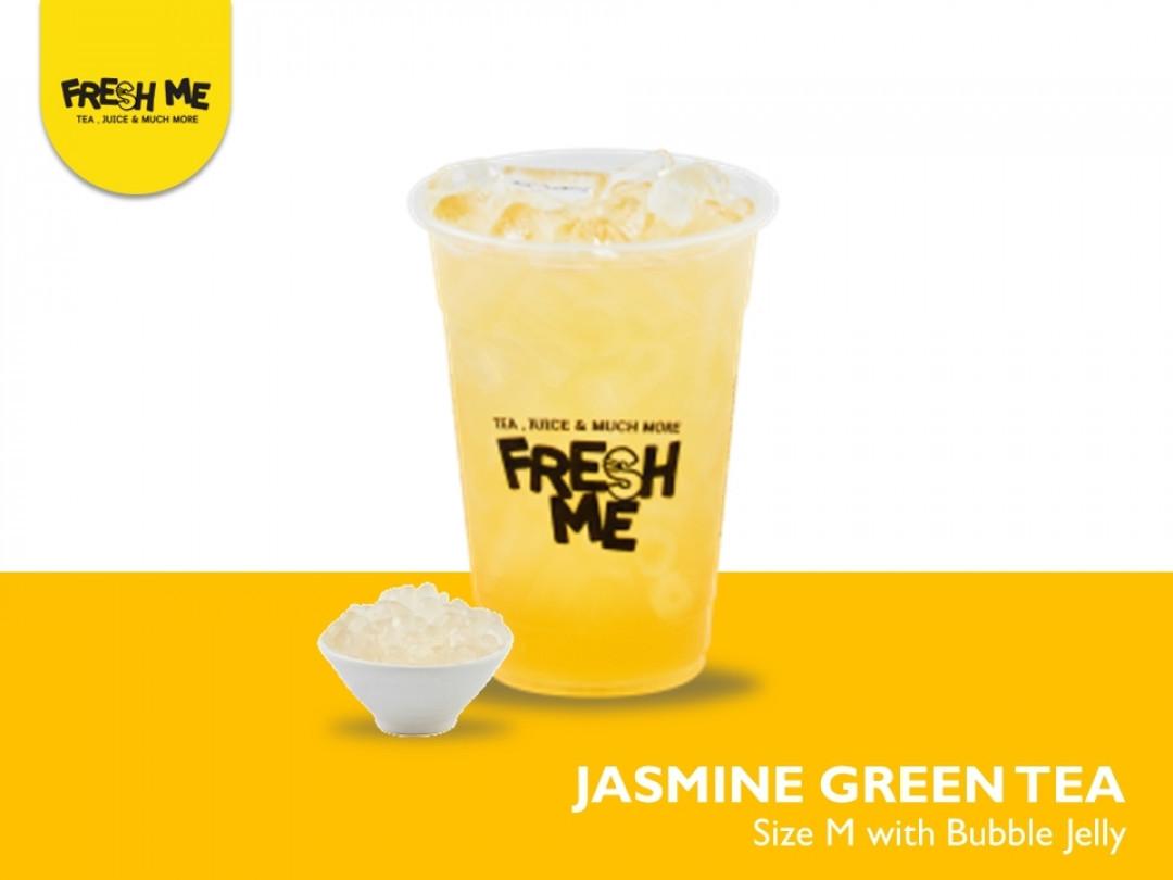 Jasmine Green Tea + Bubble Jelly
