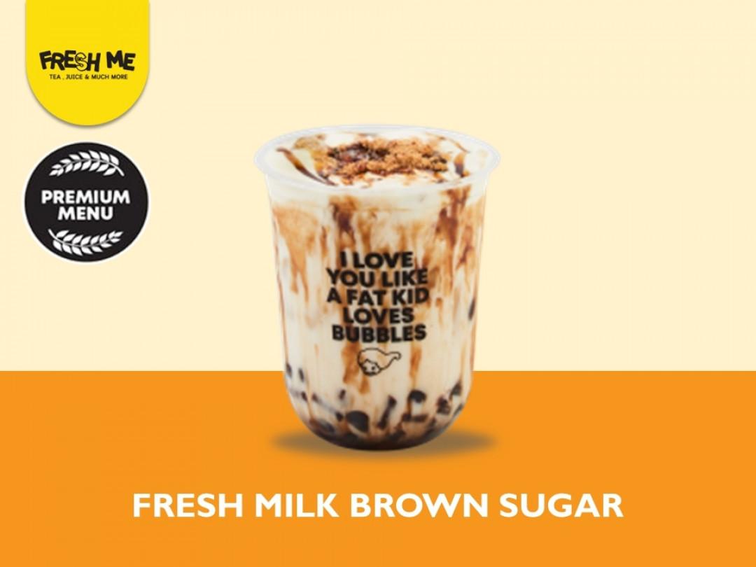 Fresh Milk Brown Sugar