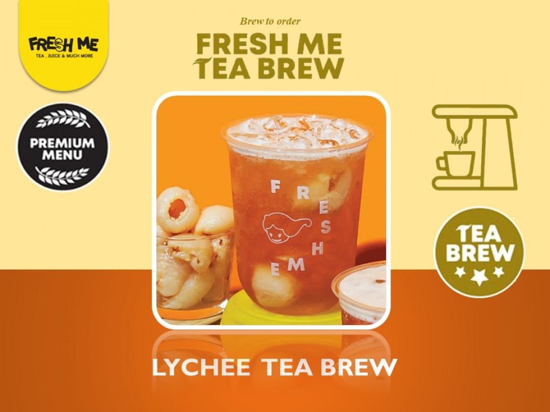 Lychee Tea Brew