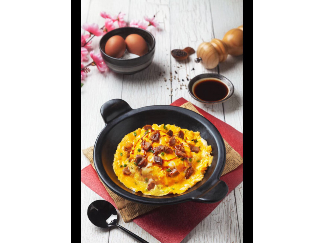 ข้าวไข่ข้นลาวาฮ่องกง